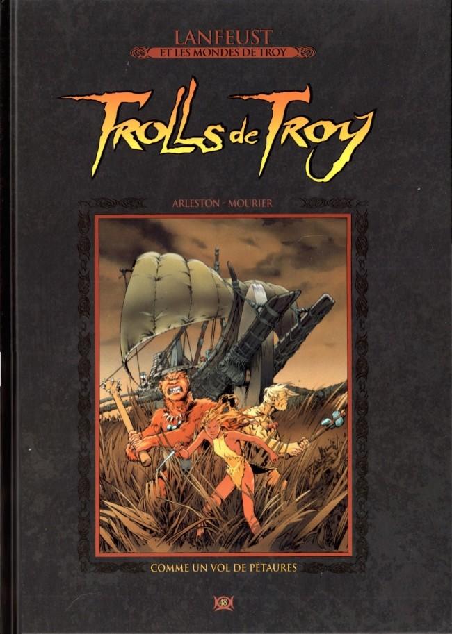 Couverture de Lanfeust et les mondes de Troy - La collection (Hachette) -48- Trolls de Troy - Comme un vol de Pétaures