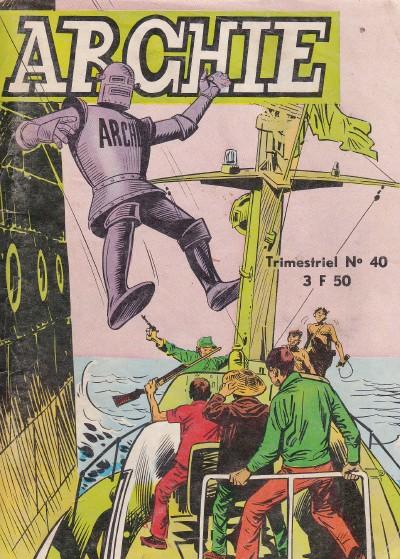 Couverture de Archie (Jeunesse et Vacances) -40- L'île de la peur