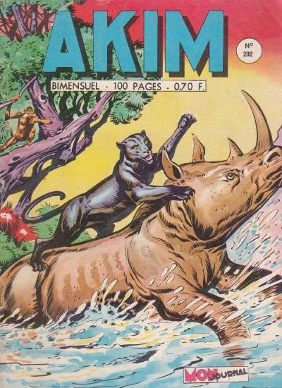 Couverture de Akim (1re série) -202- Le retour de Farg la panthère