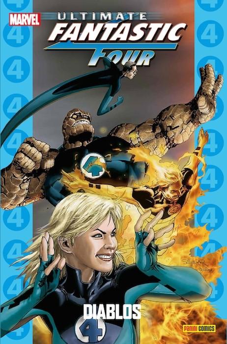 Couverture de Ultimate - Coleccionable Ultimate -71- Ultimate Fantastic Four 7: Diablos