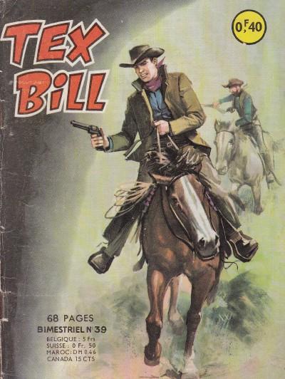 Couverture de Tex Bill -39- L'attaque de San-Juan