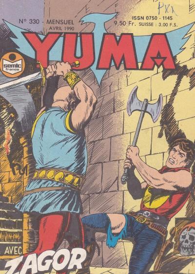 Couverture de Yuma (1re série) -330- La vallée de la peur (1)