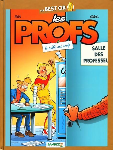 Couverture de Les profs -BO4- La salle des profs