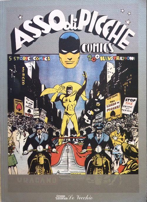 Couverture de L'asso di picche (Pratt) -2ITA- Asso di picche comics