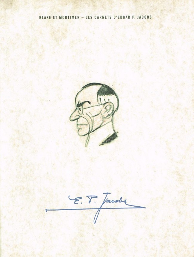 Couverture de Blake et Mortimer (Les Aventures de) -HS2- Les Carnets d'Edgar P. Jacobs