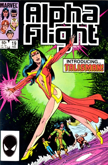 Couverture de Alpha Flight (Marvel comics - 1983) -19- Turn Again, Turn Again, Time in Thy Flight...