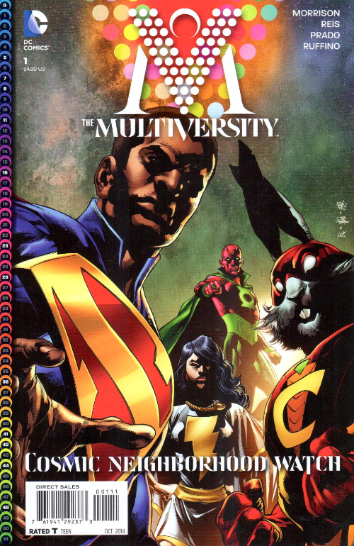 Couverture de The multiversity (2014) -1- House of Heroes
