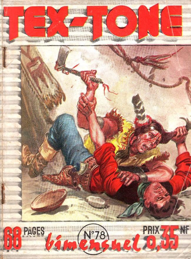 Couverture de Tex-Tone -78- Les Mains dans les poches...