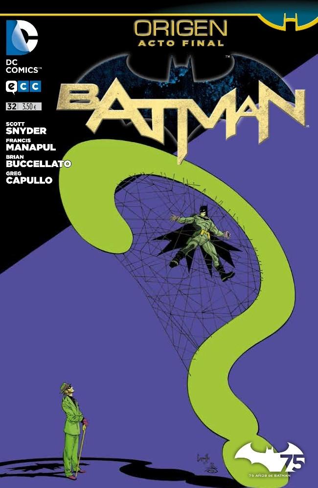 Couverture de Batman (en espagnol) -32- Origen. Acto Final