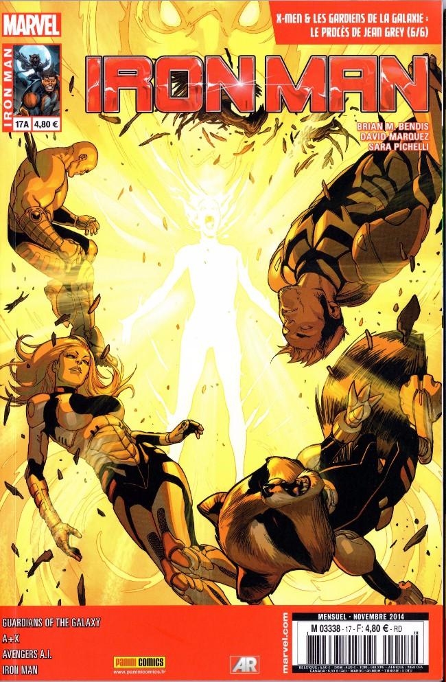 Couverture de Iron Man (Marvel France - 2013) -17A- Le procès de Jean Grey (6/6)