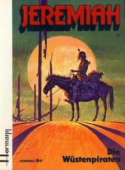 Couverture de Jeremiah (en allemand) -2- Die Wüstenpiraten
