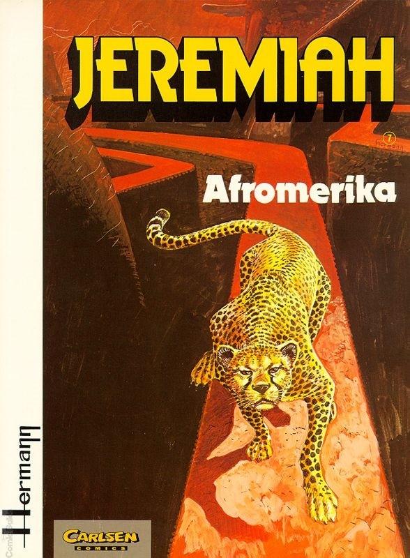 Couverture de Jeremiah (en allemand) -7- Afromerika