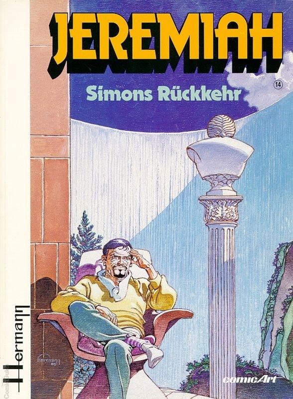 Couverture de Jeremiah (en allemand) -14- Simons Rückkehr
