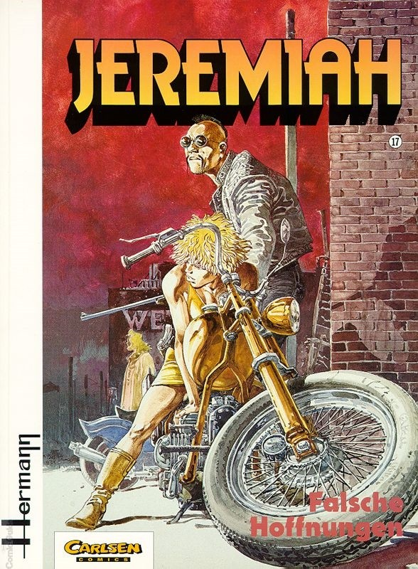 Couverture de Jeremiah (en allemand) -17- Falsche Hoffnungen