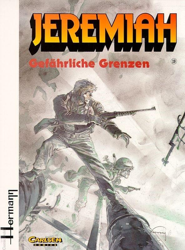 Couverture de Jeremiah (en allemand) -19- Gefährliche Grenzen