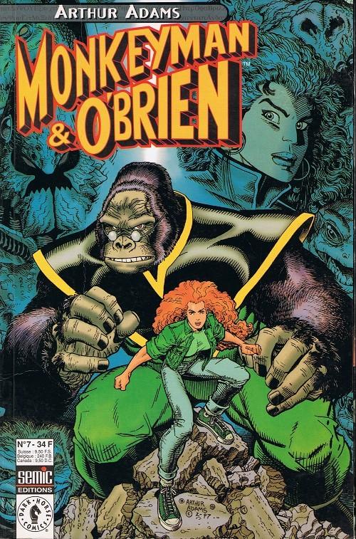 Couverture de Planète Comics (2e série) -7- Monkeyman & O'Brien