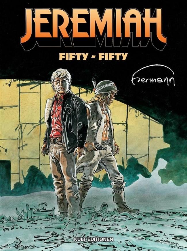 Couverture de Jeremiah (en allemand) -30- Fifty-fifty