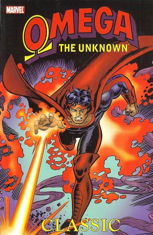 Couverture de Omega the Unknown (1976) -INT- Omega the Unknwon Classic