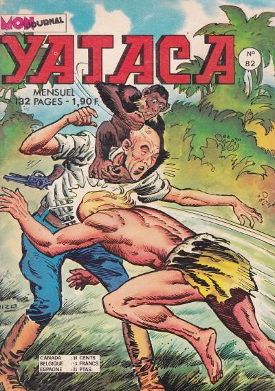 Couverture de Yataca (Fils-du-Soleil) -82- Bwana doc