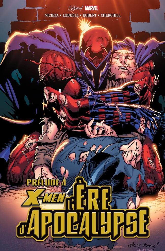 Couverture de Best of Marvel -42- X-Men : Prélude à l'ère d'Apocalypse