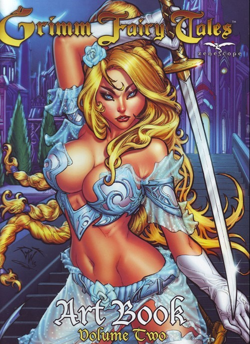 Grimm Fairy Tales Art Book