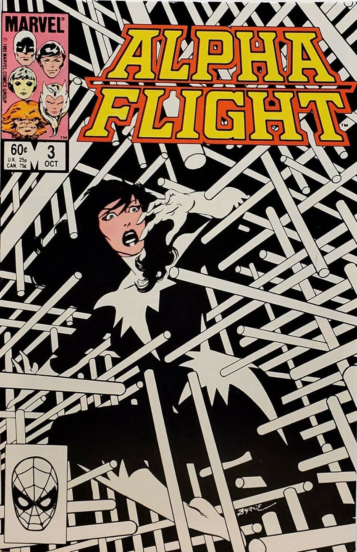 Couverture de Alpha Flight (Marvel comics - 1983) -3- Yesterday Man