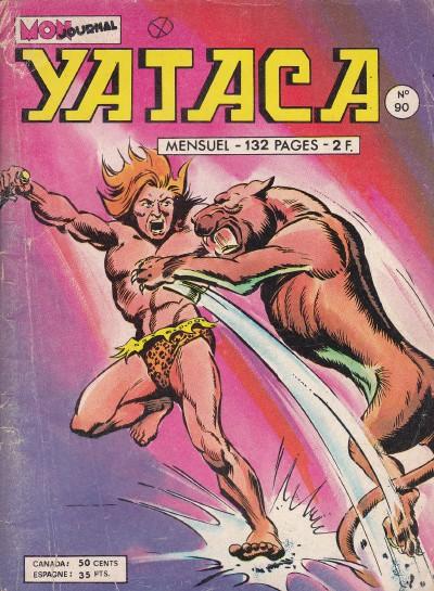 Couverture de Yataca (Fils-du-Soleil) -90- La vallée de la mort blanche