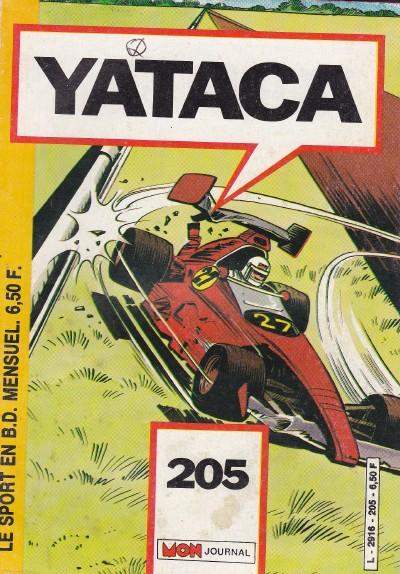 Couverture de Yataca (Fils-du-Soleil) -205- A pleins tubes ! - Les robots mènent la danse