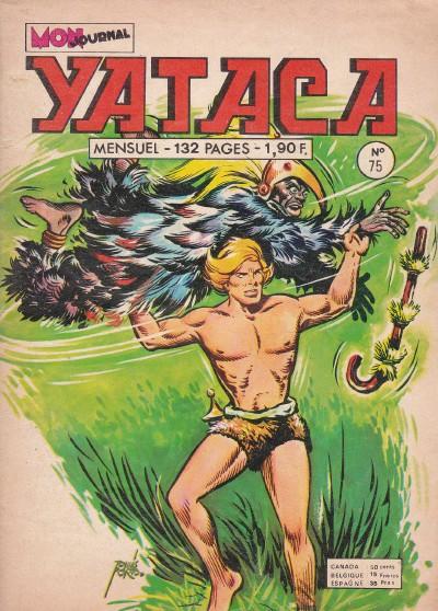 Couverture de Yataca (Fils-du-Soleil) -75- Le monstre du Nyassa
