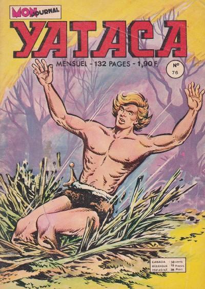 Couverture de Yataca (Fils-du-Soleil) -76- La justice de la jungle