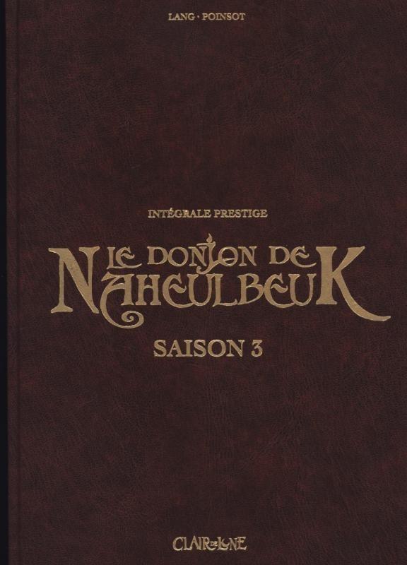 Couverture de Le donjon de Naheulbeuk -INT3- Saison 3