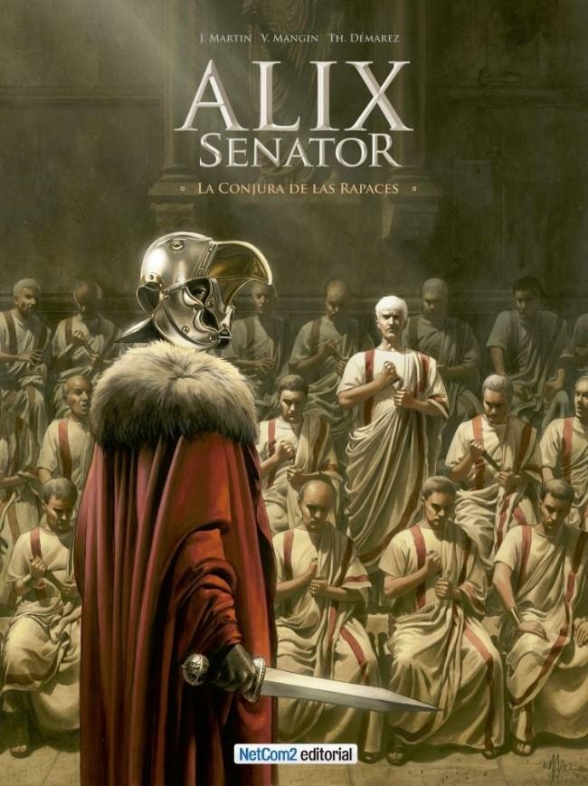 Couverture de Alix Senator (en espagnol) -3- La Conjura de las Rapaces