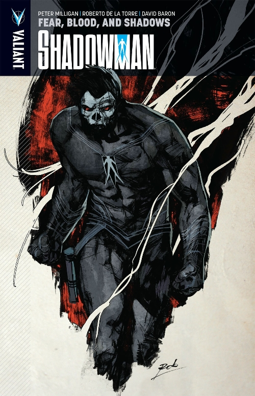 Couverture de Shadowman (2012) -INT04- Fear, Blood, and Shadows