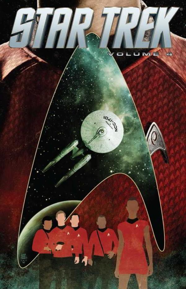 Couverture de Star Trek (IDW -Intégrale) -INT04- Volume 4