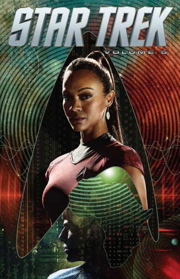 Couverture de Star Trek (IDW -Intégrale) -INT05- Volume 5
