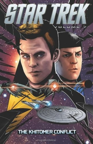 Couverture de Star Trek (IDW -Intégrale) -INT07- Volume 7: The Khitomer Conflict