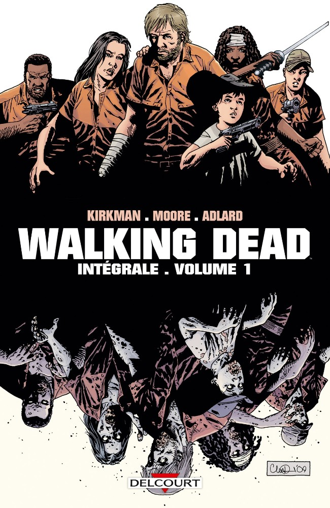 Couverture de Walking Dead -INT- Walking Dead Intégrale 1 Numérique