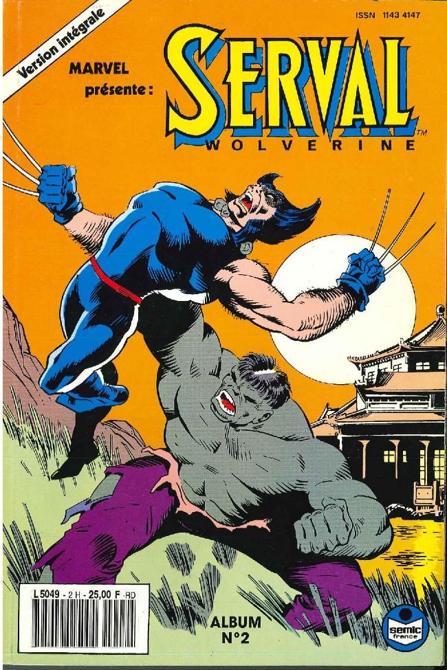Couverture de Serval-Wolverine -Rec02- Album N°2 (du n°4 au n°6)