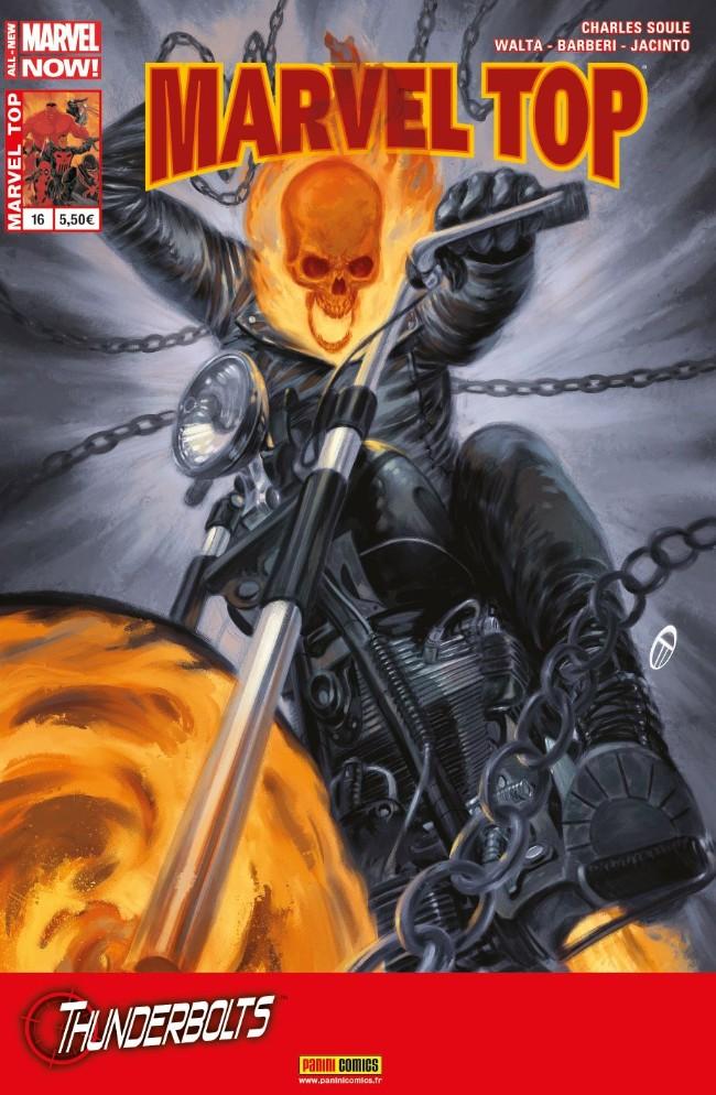 Couverture de Marvel Top (Marvel France 2e série) -16- Mercy, Non Merci