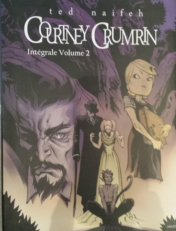 Couverture de Courtney Crumrin -INTNB2- Intégrale Volume 2
