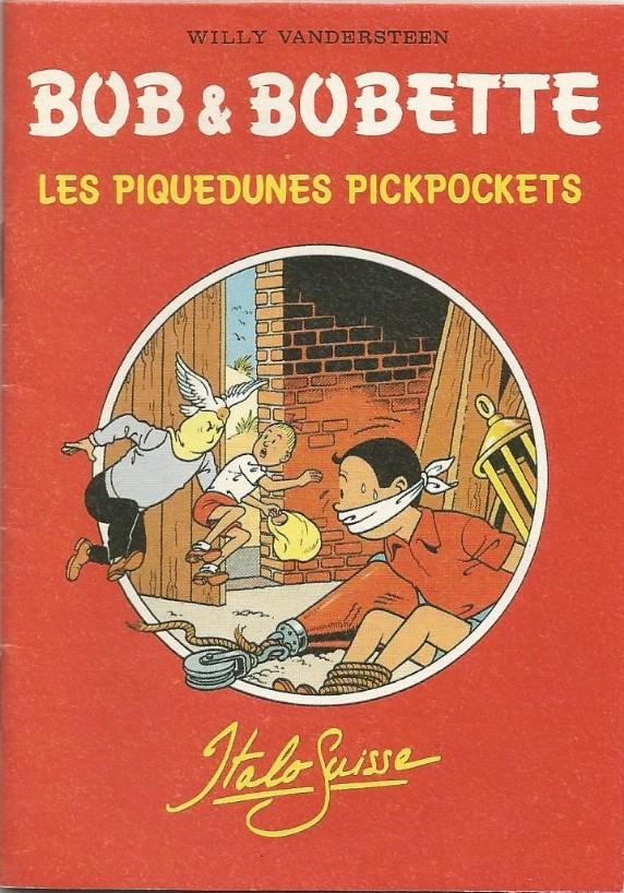 Couverture de Bob et Bobette (Publicitaire) -Ita1- Les Piquedunes Pickpockets