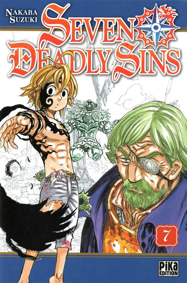 Couverture de Seven Deadly Sins -7- Tome 7