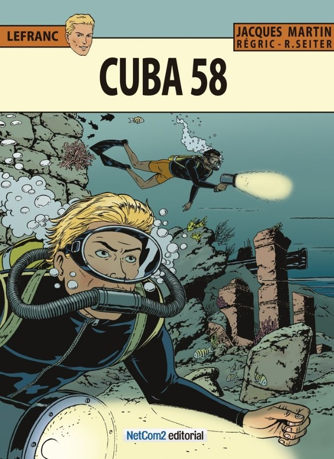 Couverture de Lefranc (en espagnol) -25- Cuba 58