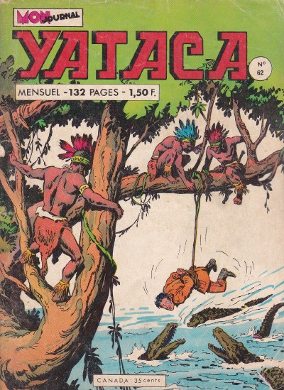 Couverture de Yataca (Fils-du-Soleil) -62- Les doigts de nahu