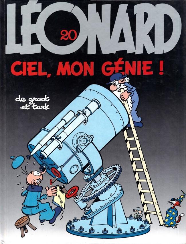 Couverture de Léonard -20- Ciel, mon génie !