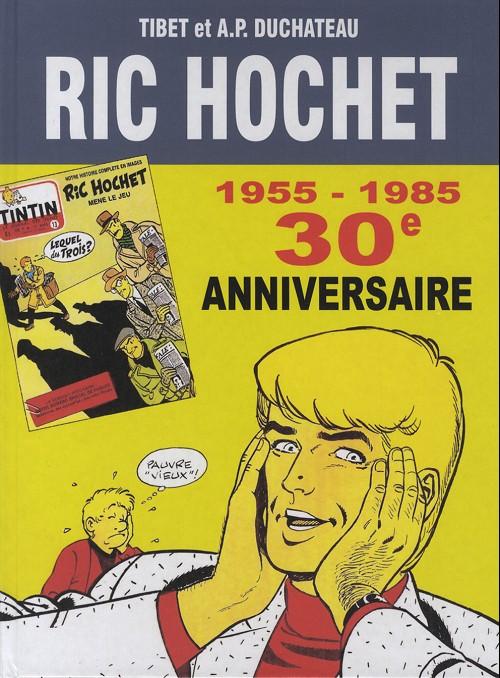 Couverture de Ric Hochet -HS10- 30e anniversaire