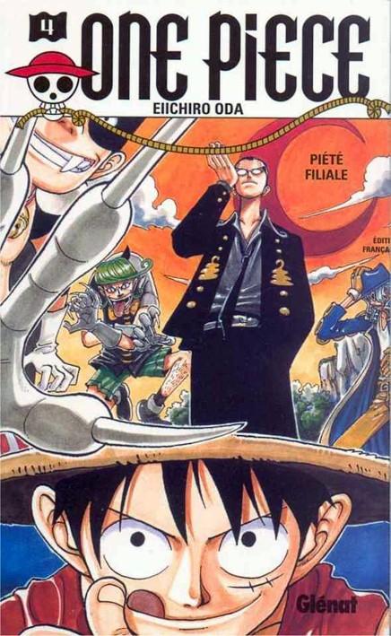 Couverture de One Piece -4- Un chemin en pente raide