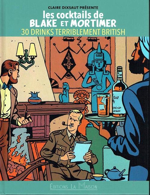 Couverture de Blake et Mortimer (Divers) - Les cocktails de Blake et Mortimer