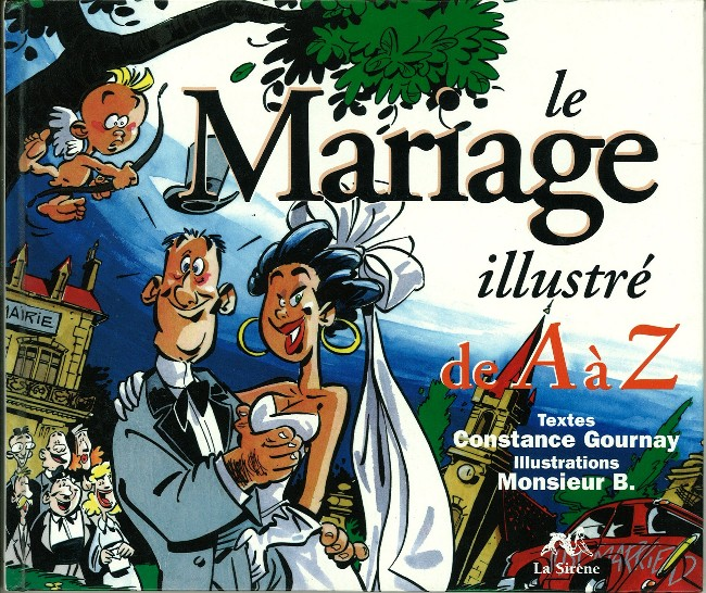 Couverture de Illustré (Le Petit) (La Sirène / Soleil Productions / Elcy) - Le Mariage illustré de A à Z