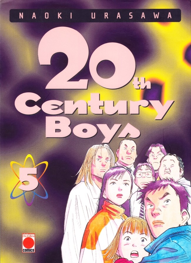 Couverture de 20th Century Boys -5- Tome 5
